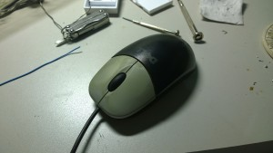 Dismantle old mouse 1