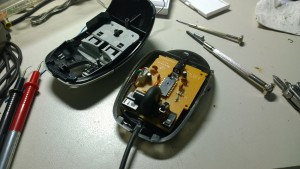 Dismantle old mouse 2