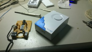 Dismantle door bell receiver 1