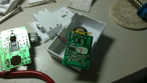 Dismantle door bell receiver 2
