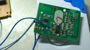 Wire to door bell receiver 3