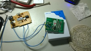 Wire to door bell receiver 4