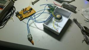 Wire to door bell receiver 5