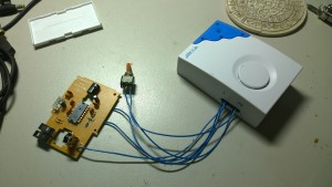 Wire to door bell receiver 6